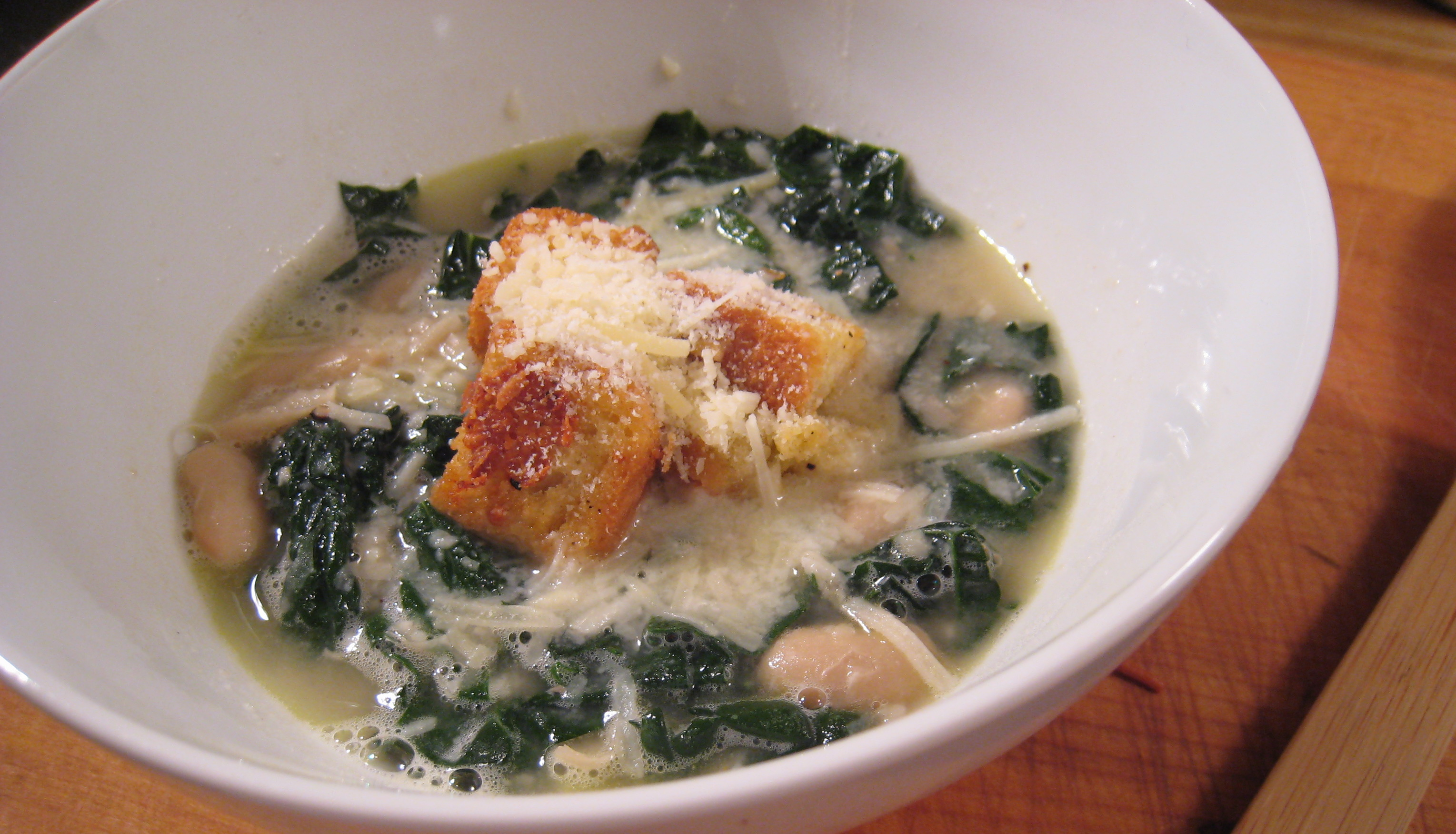 Cannellini Bean And Kale Soup Recipe — Dishmaps