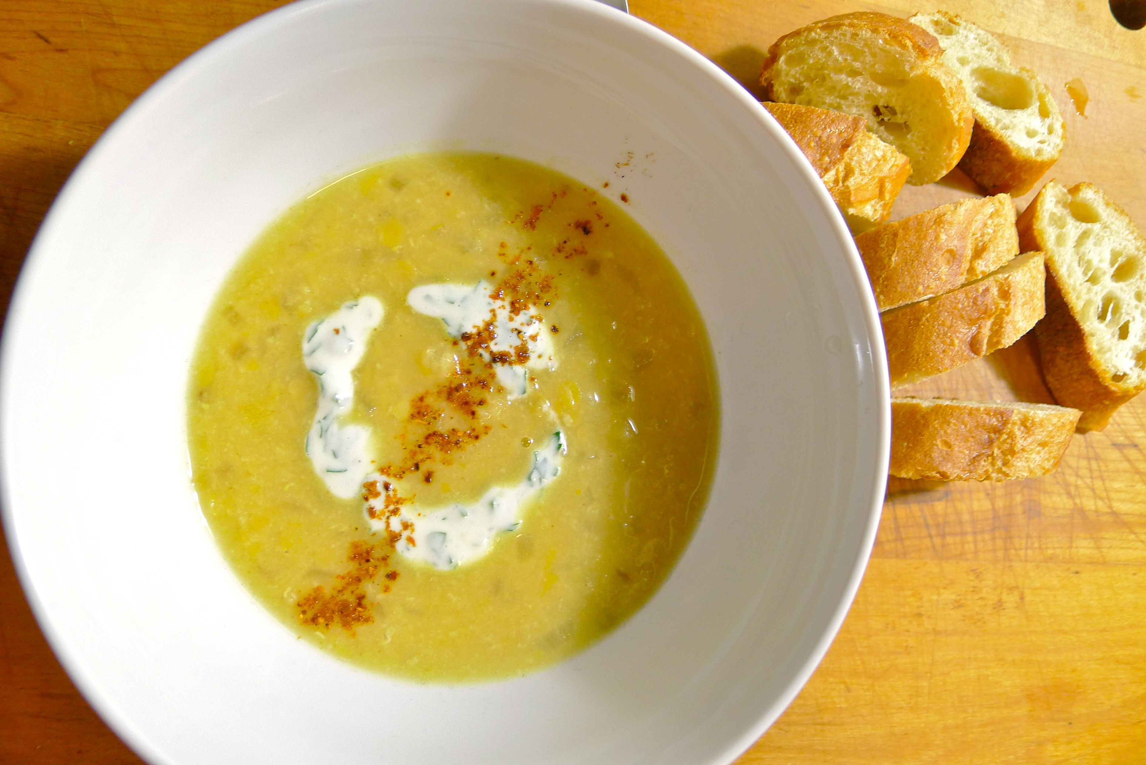 Dean & Deluca's Middle Eastern Red Lentil Soup with Yogurt ...