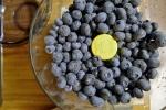 Beautiful, blue blueberries.