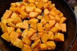 Roast the sweet potatoes till they are soft on the inside and caramelized on the outside.