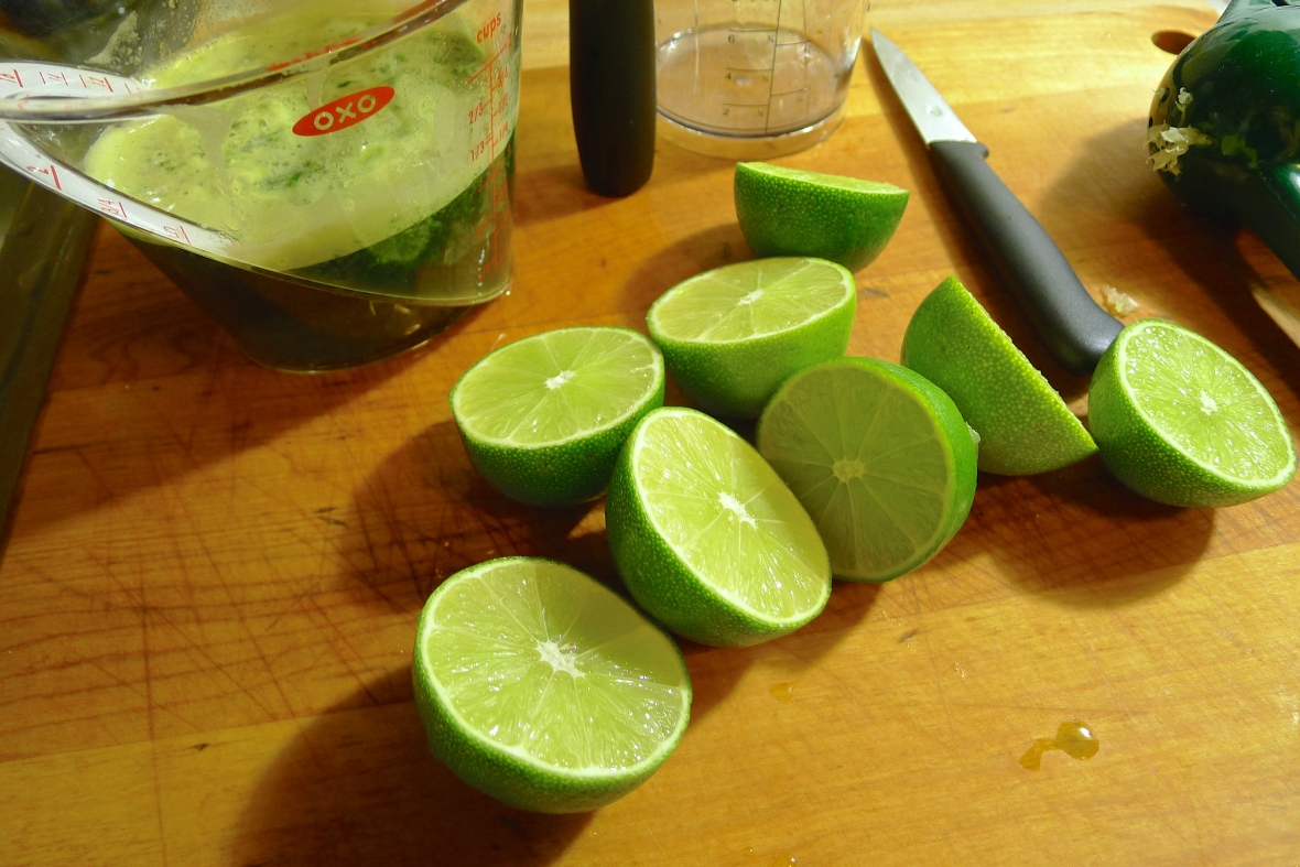 A lotta' limes!