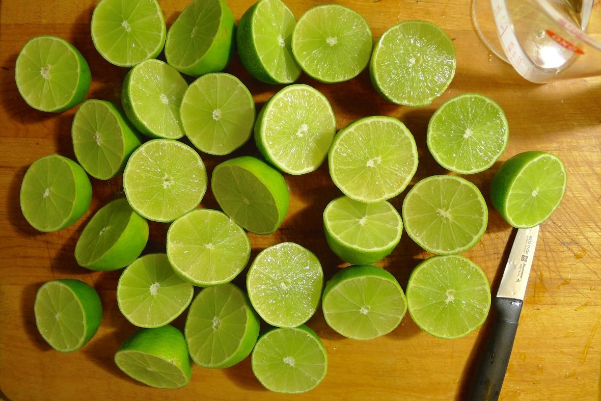 That's a lotta' limes.
